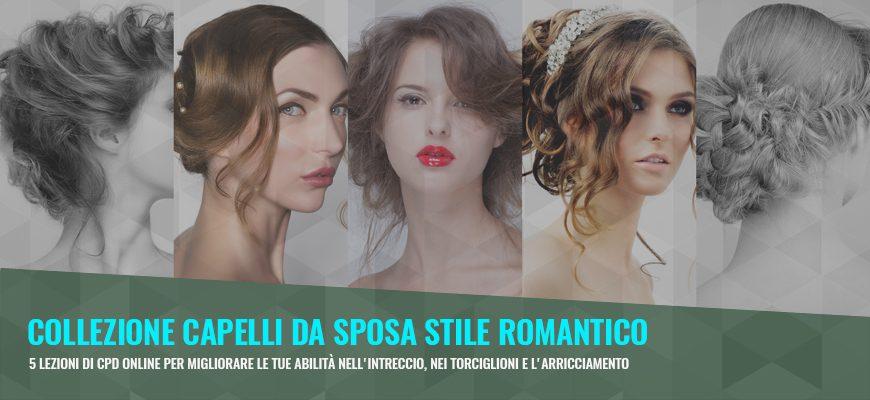 L'amore è nell'aria con il Corso Capelli da Sposa Stile Romantico