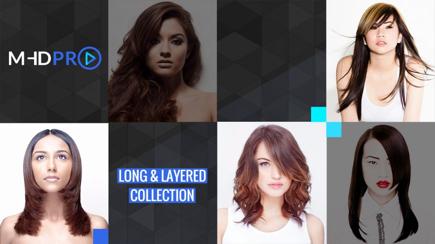 How to cut long hair – MHDPRO Long and Layered Collection