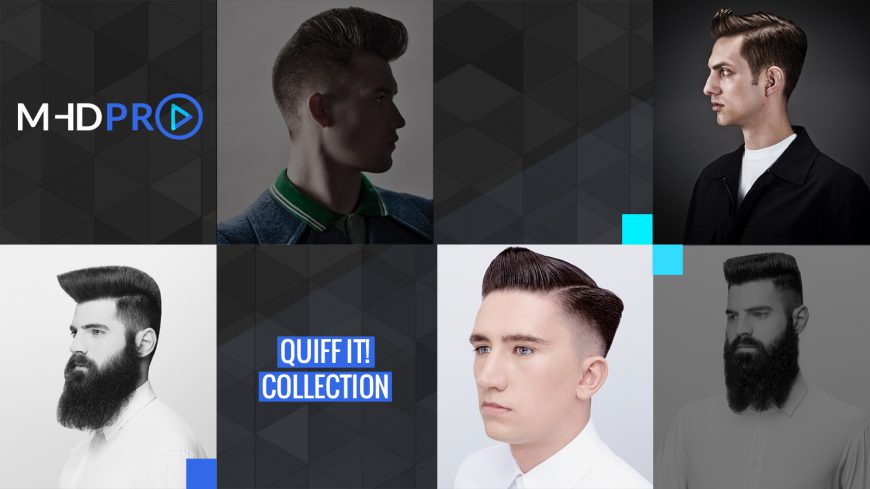 Men's Haircuts – Quiffs, Pompadours and Flat Tops Course
