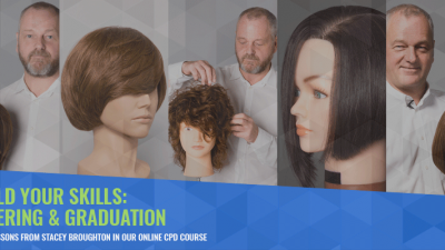 Get to the heart of every haircut with our layering and graduation course