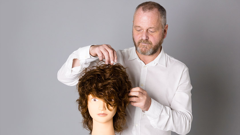Lesson 3 of the Layering & Graduation online haircutting course – The Short Square Layer