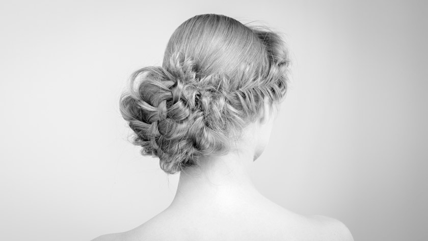 Lesson 1 of the MHDPro Romantic Bridal Hair Course - Braid Variations Chignon